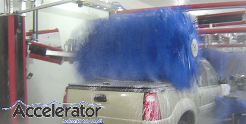 Top Brush Motor City Wash Works Tunnel Systems